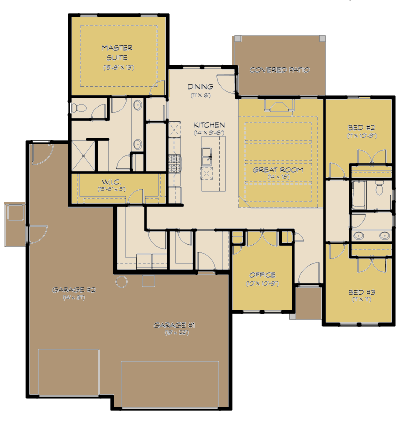 Denali FloorPlan